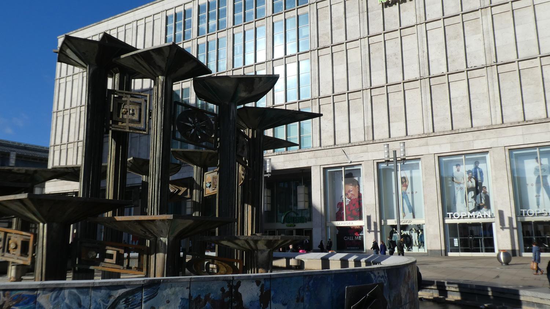 Fountain on Alexanderplatz