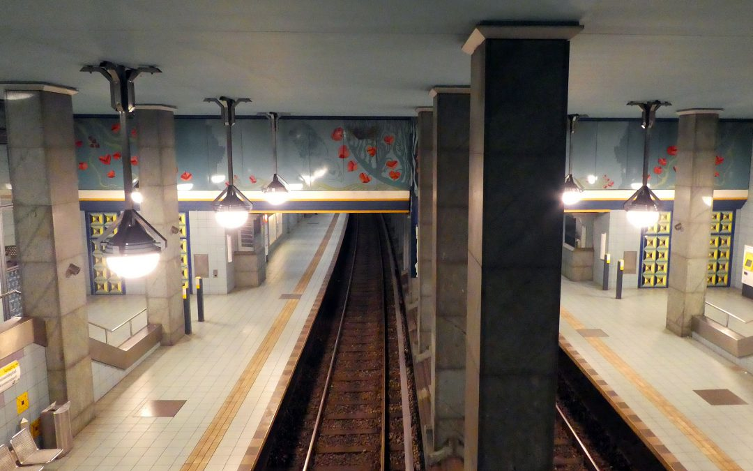 U-Bahn station Lindauer Allee
